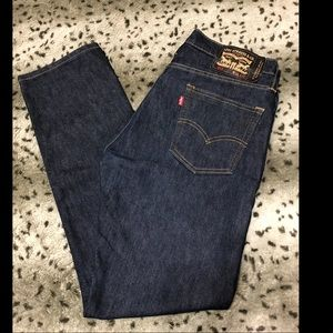 Levi Strauss 513 W34 L32 dark blue men's jeans